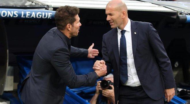 Атлетико – Реал: Симеоне согласился с результатом мадридского дерби