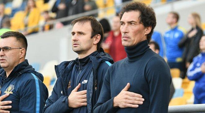 Динамо – СК Дніпро-1: післяматчева прес-конференція Дмитра Михайленка