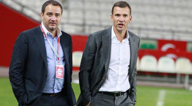 Павелко: Шевченко точно будет работать со сборной Украины до конца Евро-2020