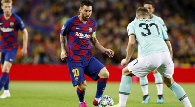 Мессі влаштував мотиваційну промову у перерві матчу з Інтером – Барселона здійснила вражаючий камбек