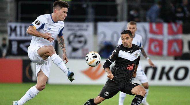 Динамо увійшло до п'ятірки найкращих клубів Ліги Європи за цікавим показником