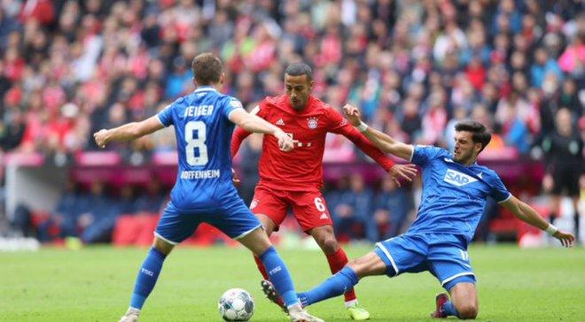 Обзор футбола хофенхаим- бавария