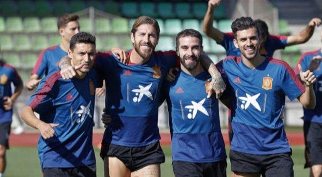Себальйос зазнав травми на тренуванні збірної Іспанії