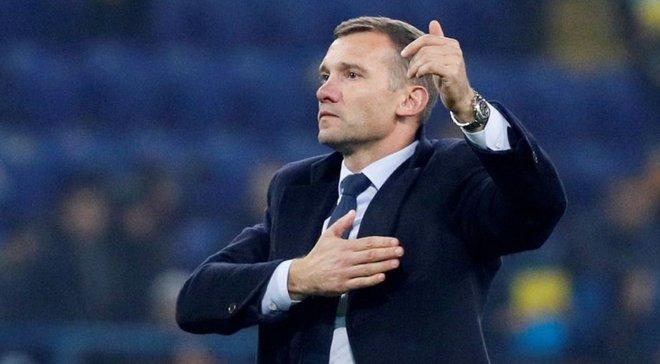 Шевченко оцінив підтримку збірної України у різних містах