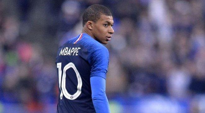 Збірна Франції втратила Мбаппе перед матчами проти головних конкурентів у відборі на Євро-2020