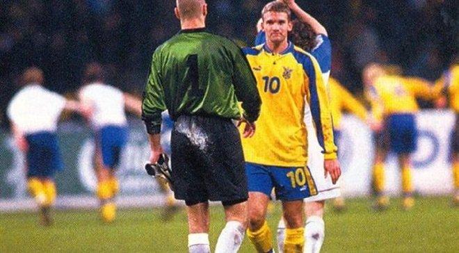 20 лет назад Шевченко забил легендарный гол в ворота России – ретро дня