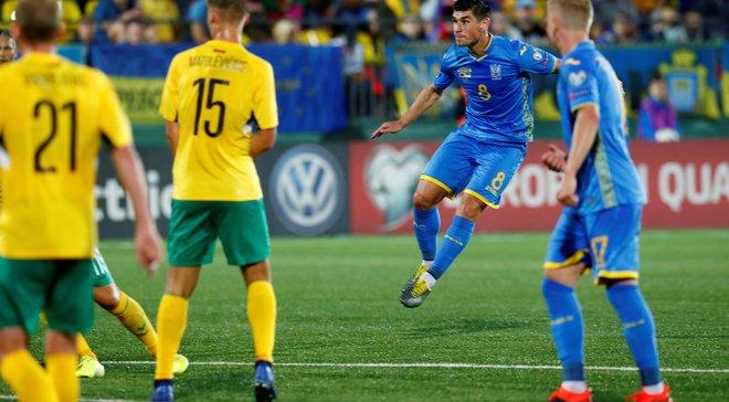 Украина – Литва: онлайн-трансляция матча отбора к Евро-2020 – как это было