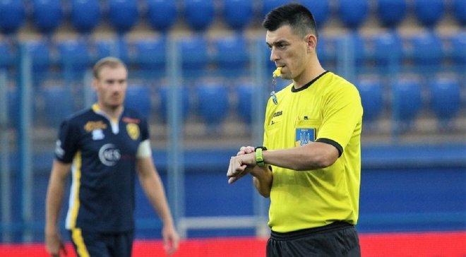 Арбітр скандального матчу Колос – Динамо призначений на матч Першої ліги