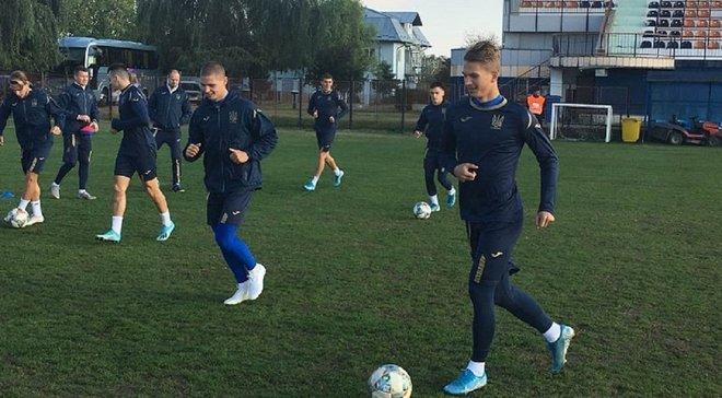 Румыния U-21 – Украина U-21: украинцы провели предматчевую тренировку
