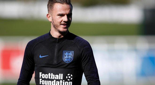 Мэддисон не поможет Англии в матчах с Чехией и Болгарией