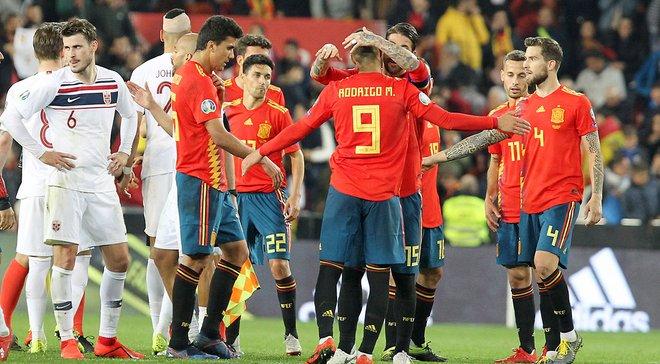 Норвегия – Испания: онлайн-трансляция матча отбора к Евро-2020 – как это было