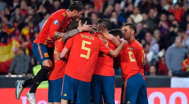 Норвегия – Испания – 1:1 – видео голов и обзор матча