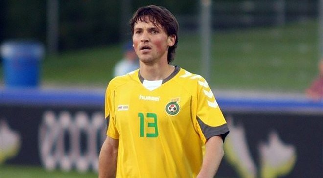Сумую за періодом, коли виступав в Україні, – півзахисник збірної Литви Міколюнас