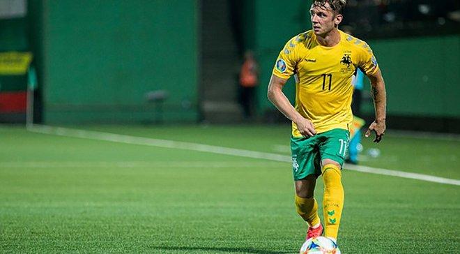 Форвард сборной Литвы Новиковас: Приехали в Украину за победой