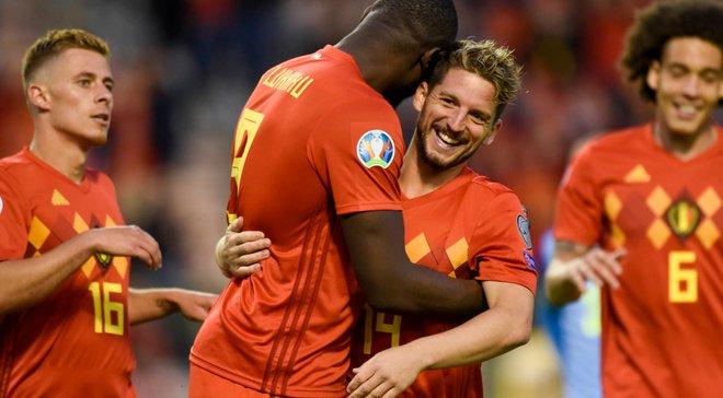 Бельгия уничтожила Сан-Марино и первой квалифицировалась в финальную часть Евро-2020