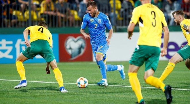 Україна – Литва: команди визначились із формою на гру