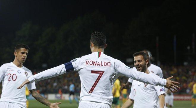 Португалія – Люксембург: онлайн-трансляція матчу відбору Євро-2020 у групі України – Роналду проти динамівця