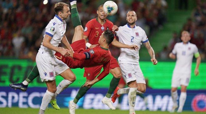 Португалія – Люксембург: CR700 залякує Україну, партнер Зінченка забиває на 3 очки, динамівець не страхує одноклубників