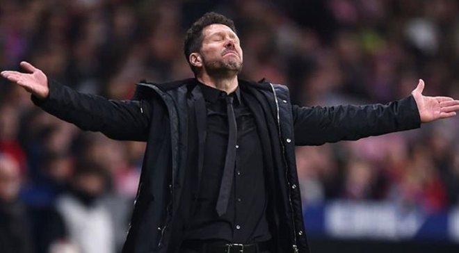 Симеоне признался, каким тренером восхищается больше всего