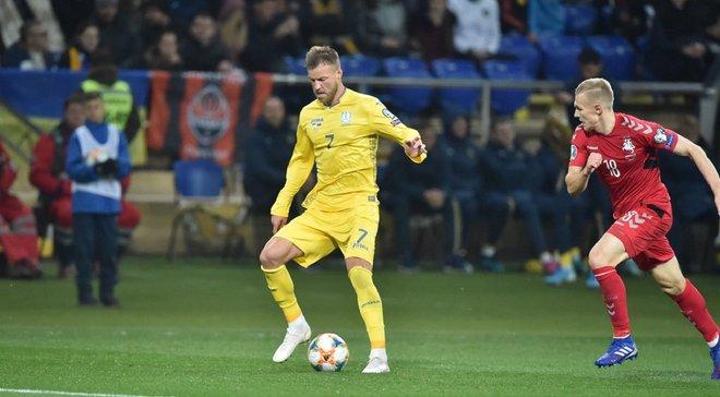 Ярмоленко очертил перспективы сборной Украины после матча с Литвой