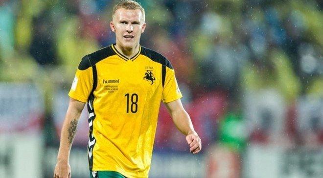 Матч против Португалии был легче, чем против Украины, – хавбек сборной Литвы