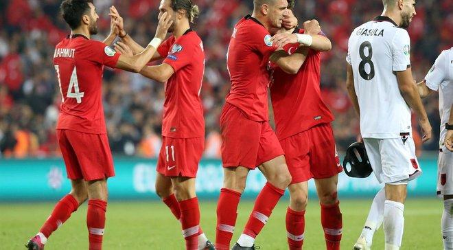 УЄФА може покарати збірну Туреччини за святкування голу