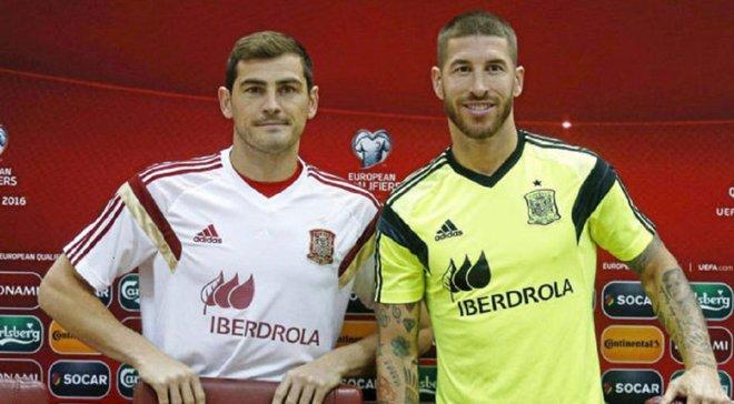 Касільяс привітав Рамоса, який побив його рекорд у збірній Іспанії