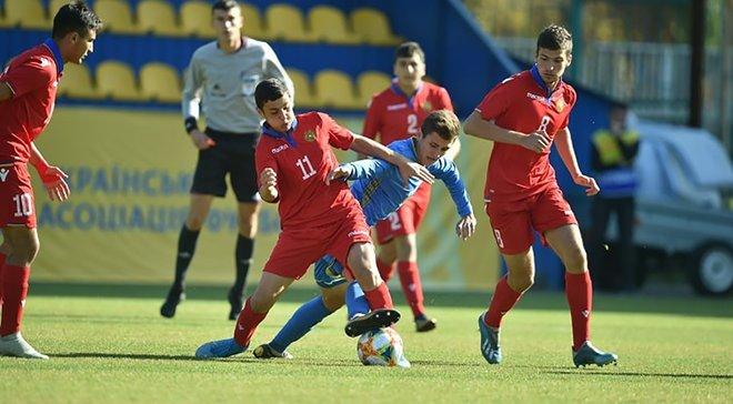 Сборная Украины U-17 уверенно победила Армению