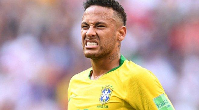Неймар получил травму в товарищеской игре за сборную Бразилии
