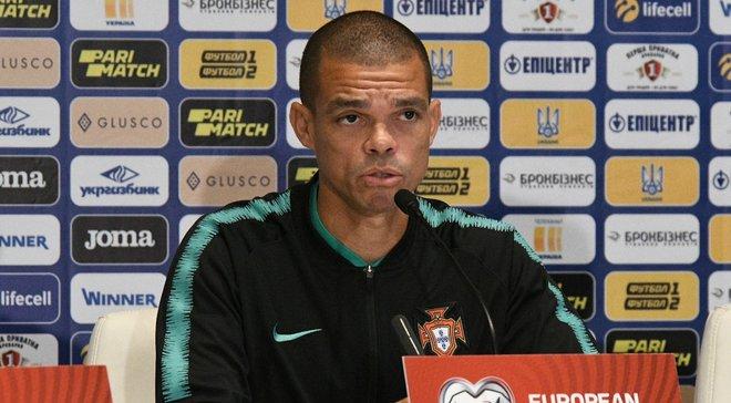 Пепе назвал сильные стороны сборной Украины перед очным поединком в отборе на Евро-2020