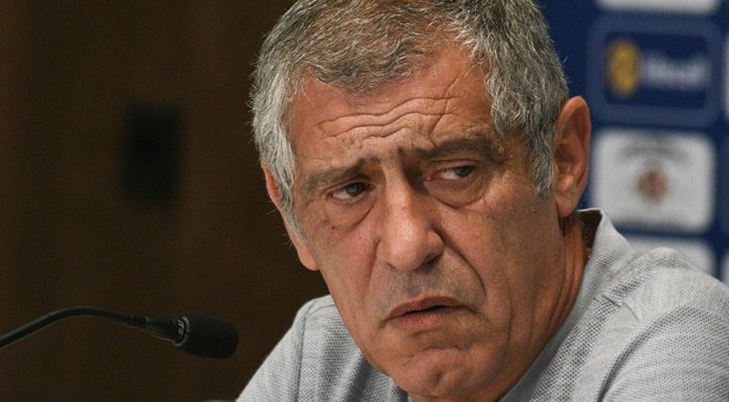 Украина – Португалия: предматчевая пресс-конференция Фернанду Сантуша