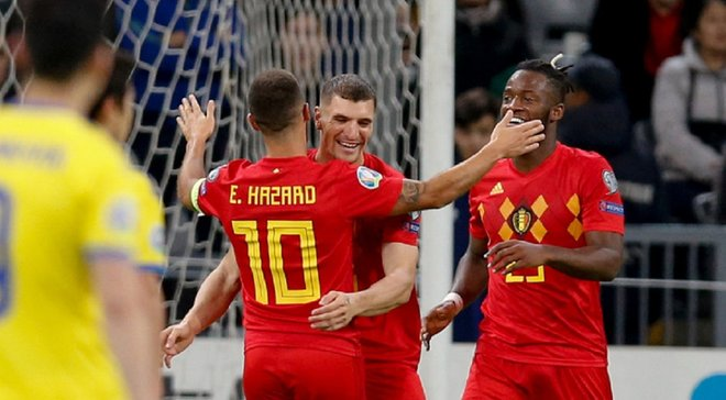 Очередное уверенное выступление сборной Бельгии в видеообзоре победы над Казахстаном – 2:0