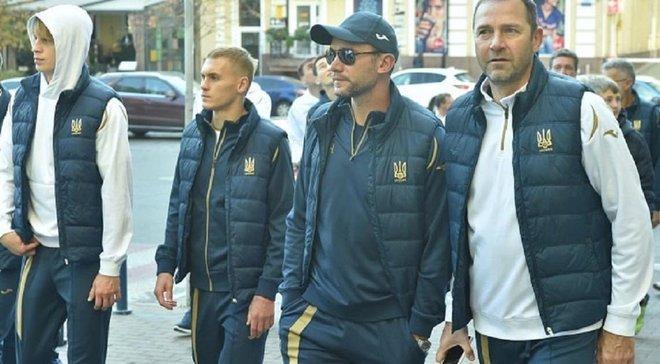 """Украина – Португалия: """"сине-желтые"""" прогулялись по Киеву накануне решающего поединка Евро-2020"""