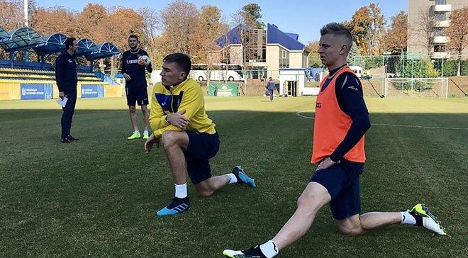 """Україна – Португалія: """"синьо-жовті"""" провели передматчеве тренування"""