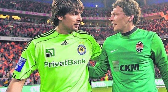 Пятов сравнялся с Шовковским по количеству матчей за сборную Украины