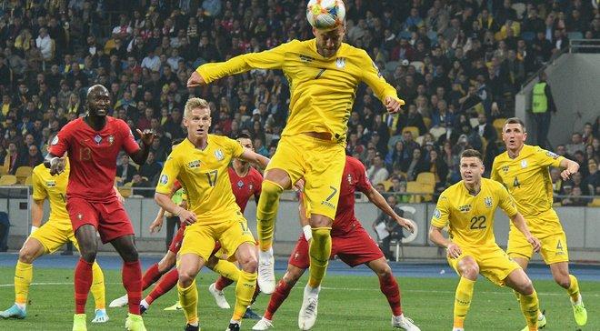 Украина – Португалия: Ярмоленко забил за сборную впервые за год
