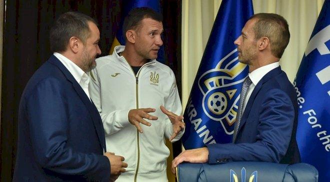 Україна – Португалія: Павелко зізнався, що вірив у перемогу до матчу