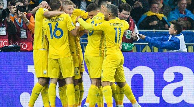 Євро-2020: InStat визначив найкращих гравців збірної України у кваліфікаційному турнірі