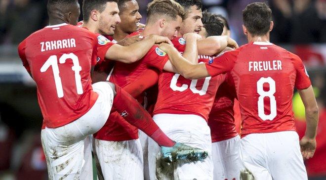 Уверенная победа Швейцарии в видеообзоре матча против Ирландии