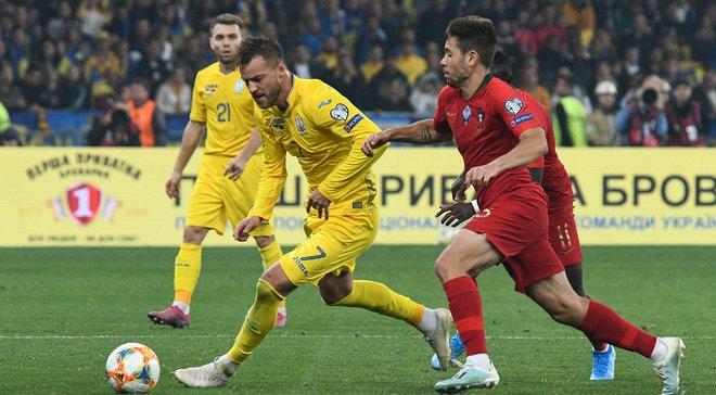 Ярмоленко роскошно посрамил двух игроков Португалии, даже не коснувшись мяча – УЕФА отметил игру украинца