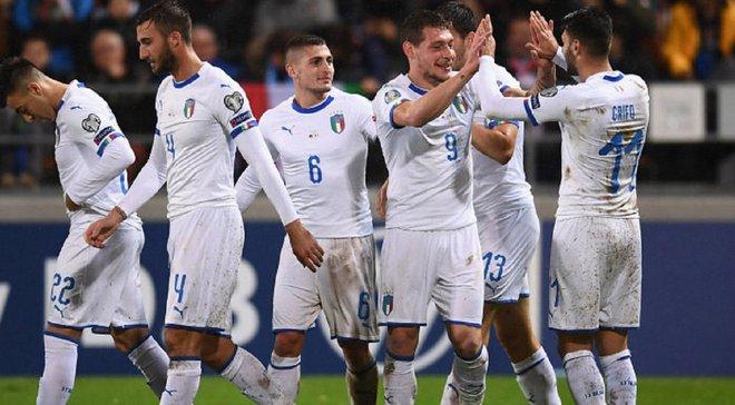 Италия повторила рекорд сборной, установленный 81 год назад