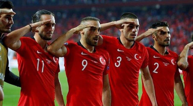 УЄФА відкрив дисциплінарну справу проти збірної Туреччини за святкування голів