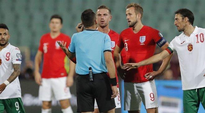 В Болгарии арестовали фанатов, подозреваемых в проявлениях расизма во время матча с Англией