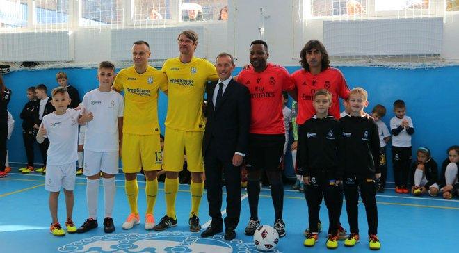 Легенди Реала відкрили в Україні соціально-спортивну школу