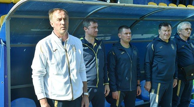 Петраков: Надеюсь, игроки Динамо помогут сборной Украины U-17 в матчах отбора к Евро-2020
