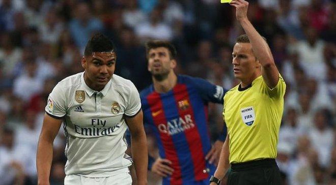 Реал успешно обжаловал желтую карточку Каземиро перед матчем с Барселоной