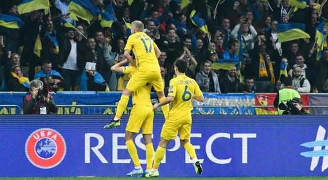 Два игрока сборной Украины попали в символическую команду самых полезных игроков отбора к Евро-2020 по версии Instat