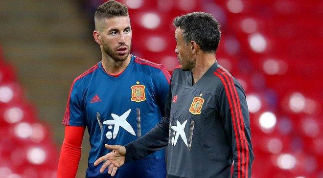 Рамос трогательно посвятил выход сборной Испании на Евро-2020 Луису Энрике