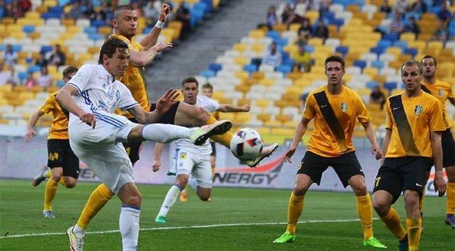 Динамо столкнулось с кадровыми потерями перед матчем с Александрией