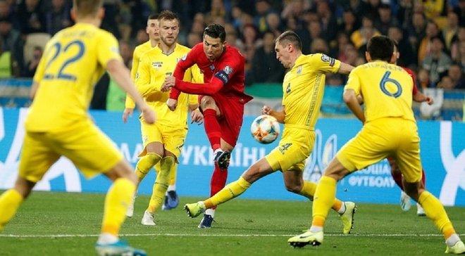 Матч Украина – Португалия вошел в топ-5 самых посещаемых игр отбора Евро-2020